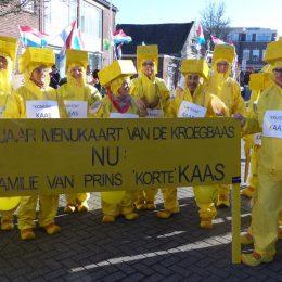 Carnaval In Voorhout; Middenkoor Wint In Optocht