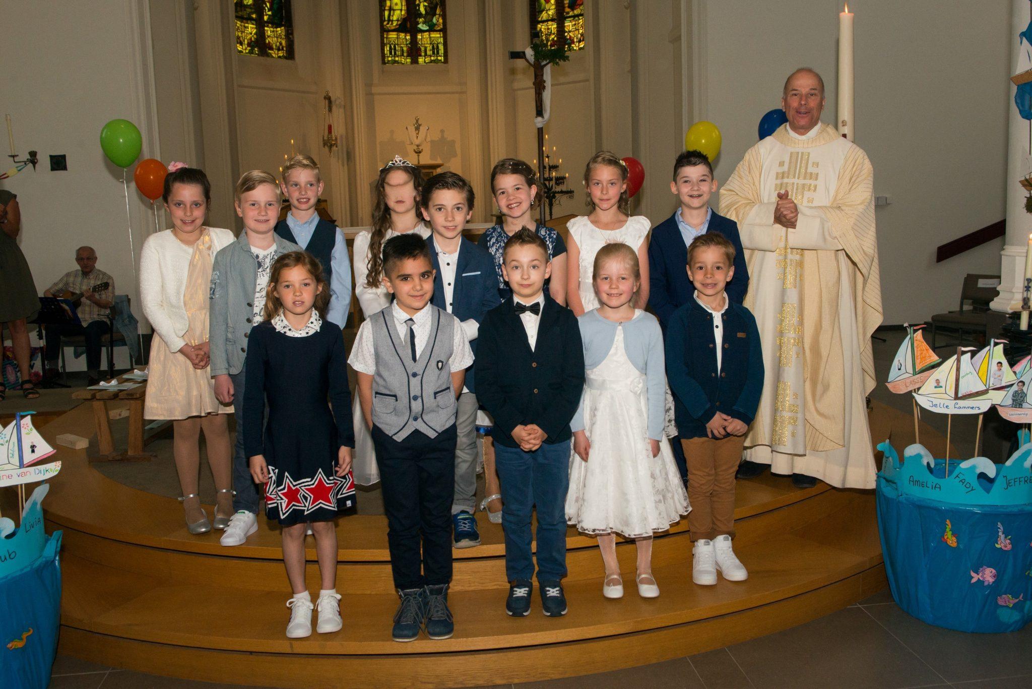Eerste Communie Sint Victor