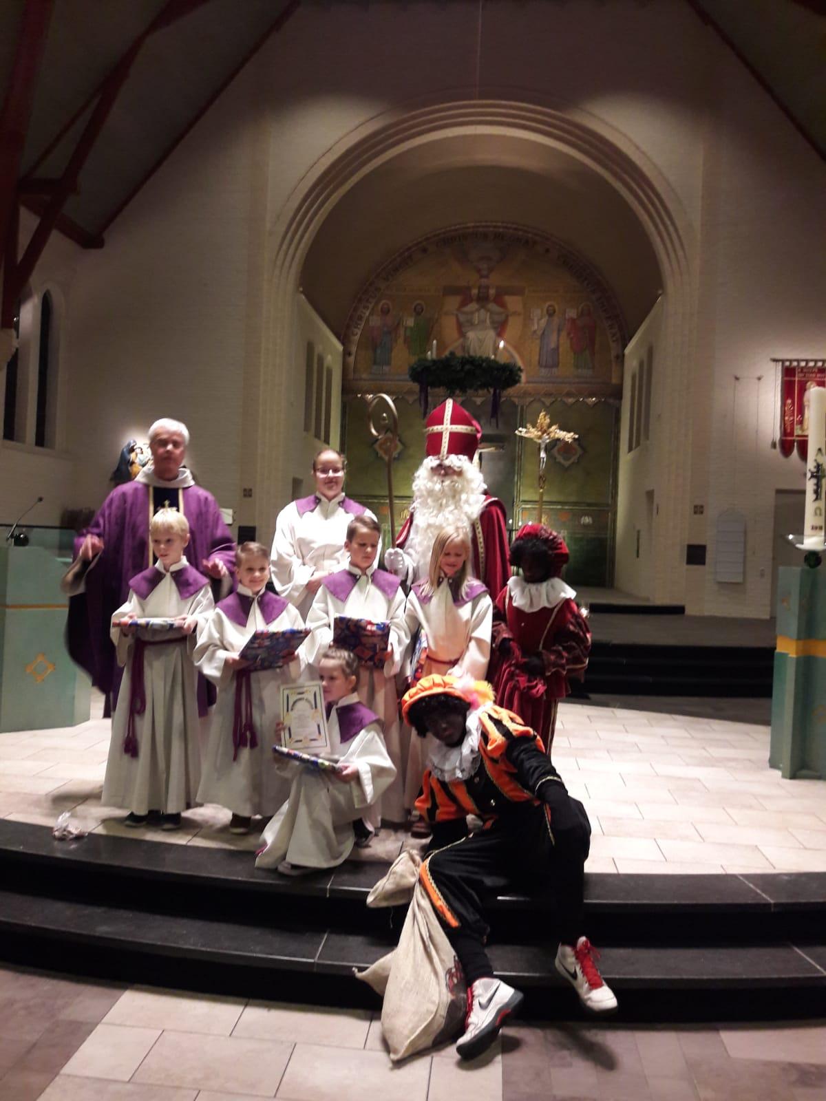 Nieuwe Misdienaars Sint Jozefkerk