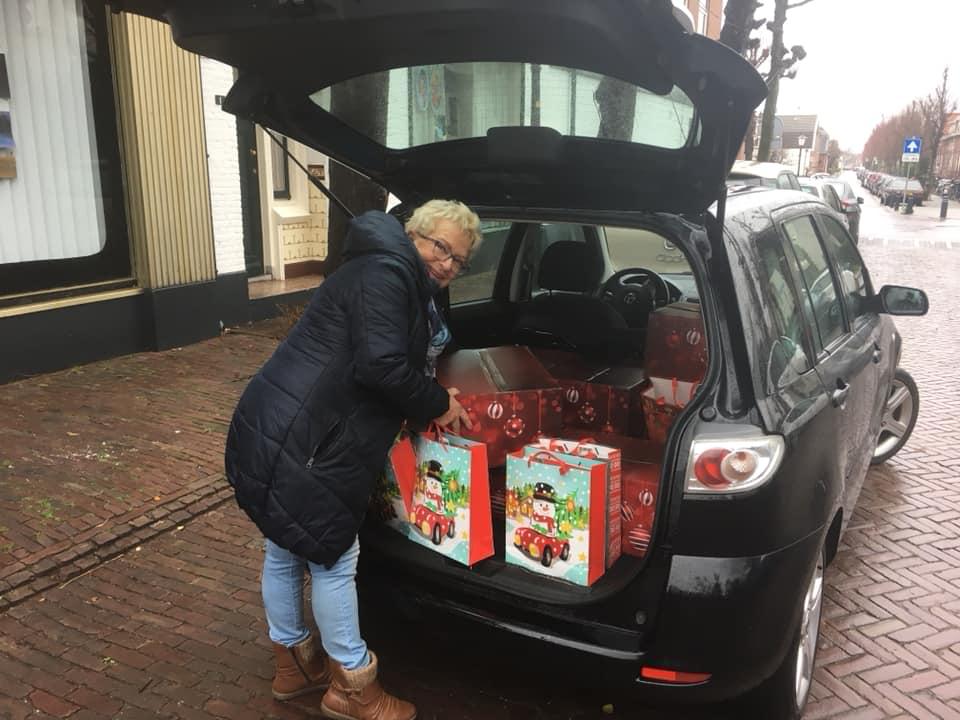 Kerstpakkettenactie Opnieuw Succesvol Verlopen!