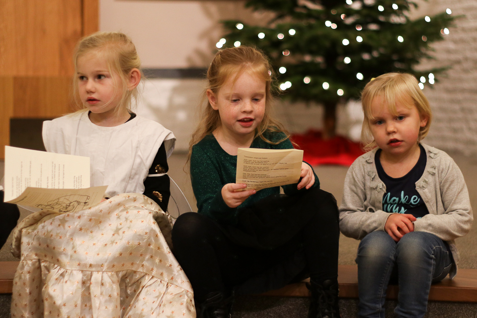 Gezellige Kinderviering Maria Ter Zee 24 December