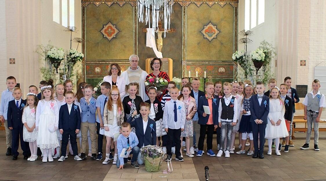 1e Communieviering In De Sint Jozefkerk